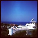 Cookie's view fra lejligheden i tyrkiet :)