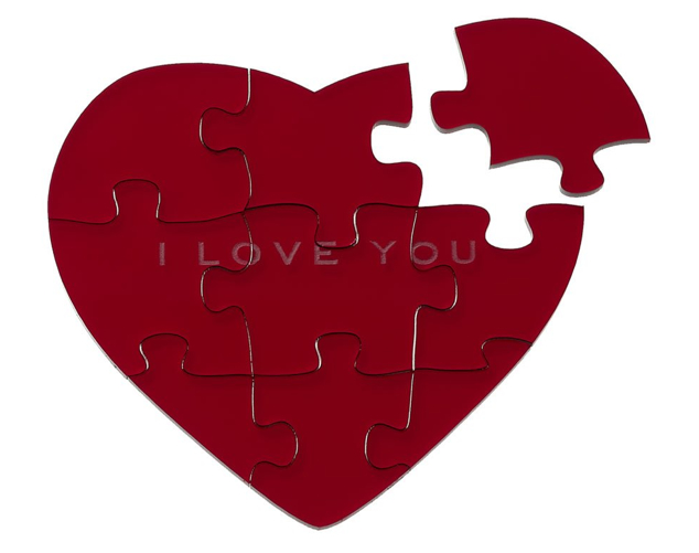 Marc Jacobs heart puzzle
