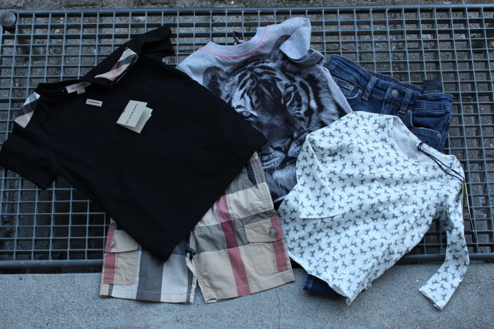Burberry kids Stella Mccartney Tommy Hilfiger kids