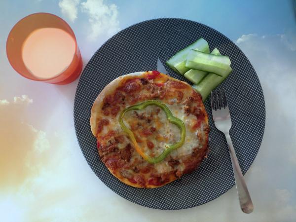 pizza børnevenlig opskrift