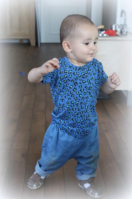 Mini Rodini leopard t-shirt Norlie baggy bukser