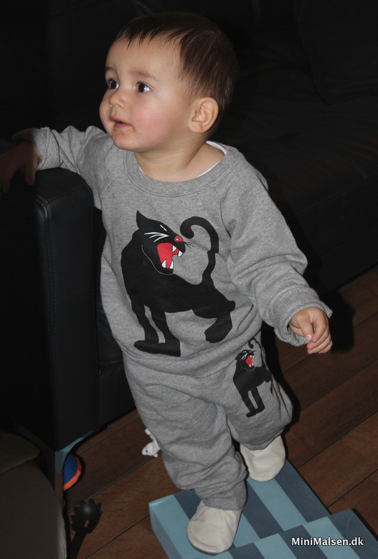 Mini Rodini panter sweatsuit