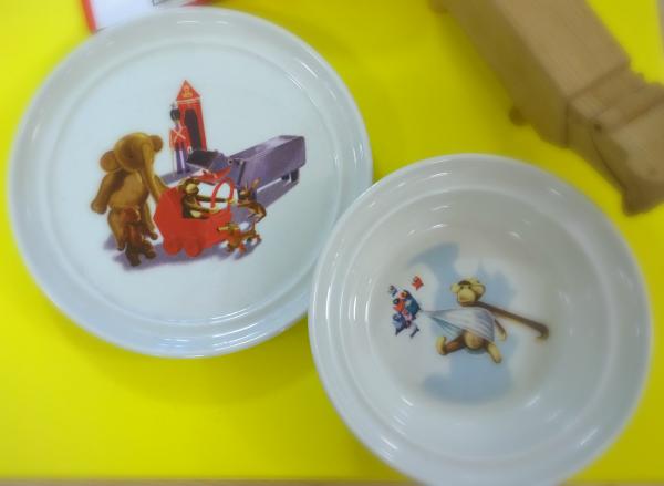 Kay Bojesen porcelænssæt til børn