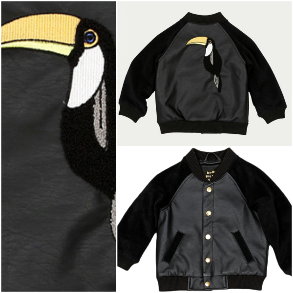 Mini rodini tucan jacket