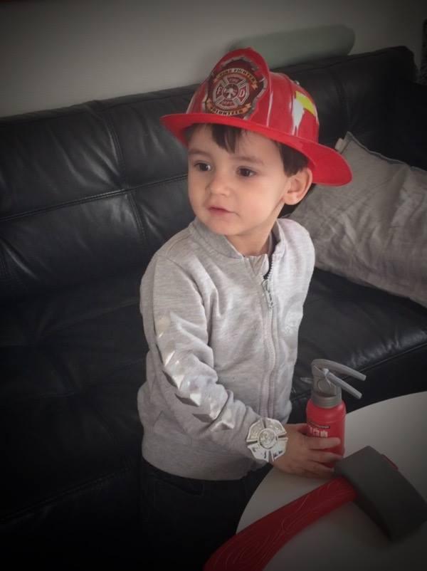 brandmandsudstyr børn