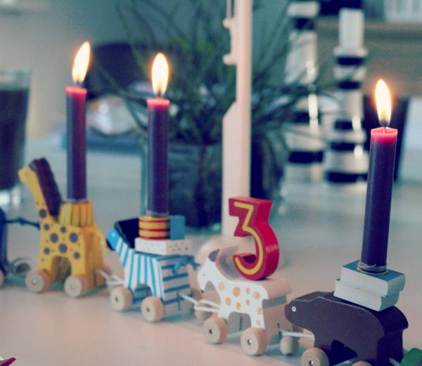 Goki fødselsdagstog dyr
